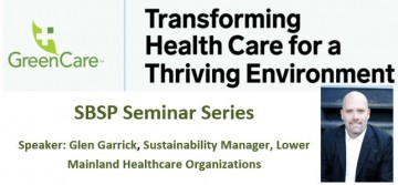 GreenCare: Transforming Health Care for a Thriving Environment